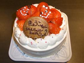 宴会特典!サプライズの手作りケーキ